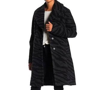 Nine West Warm & Cozy Notch Collar Coat NWTs